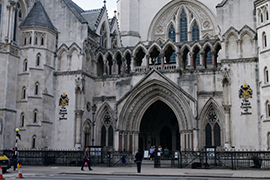 The Royal Courts of Justice, High Court,London